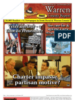 The Late November, 2012 edition of Warren County Report