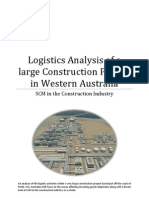 104506015 Logistics Analysis Within the Construction Industry