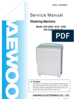 Manual Masina de Spalat DW2500SE03