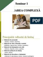 Logopedie Seminar 1