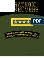 The Revolving Door From the Pentagon to the Private Sector