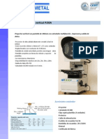 Proyector de Perfiles PJ30A TECNIMETAL