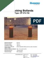 SC-MS-051 Hydraulic Bollard CP275-750
