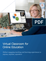 The WizIQ Virtual Classroom