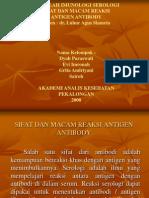 makalah imunologi