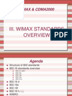 WIMAX Standards Overview