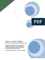 MRCP 1 Basics