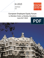 Barcelona 2013 - 25th European Equity Forum