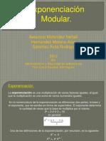 Exponenciacion Modular