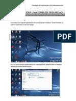 Para Realizar Una Copia de Seguridad en Un Sistema Operativo Windows 7 Home Premium