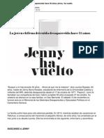 Jenny Ha Vuelto