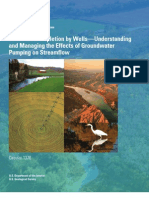 Streamflow Depletion by Wells—Understanding and Managing the Effects of Groundwater Pumping on Streamflow