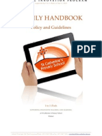 1 to 1 Parent Handbook - Policy and Guidelines