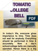 Automatic College Bell