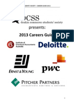 The 2013 DCSS Careers Guide