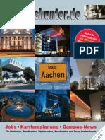 2012/13 Hochschulmagazin Region Aachen Wintersemester