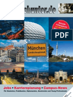 2012/13 Hochschulmagazin Region München Wintersemester