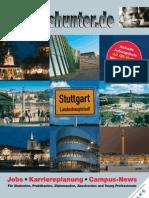 2012/13 Hochschulmagazin Region Stuttgart Wintersemester