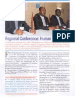 Regional Conference Human Trafficking