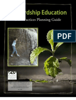 Stewardship Education Best Practices Guide