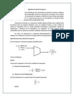 Algoritmo de Cálculo Compresor