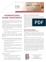 International share investments
