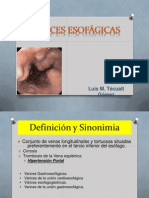 Varices Esofágicas
