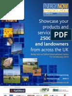 Energy Now Expo 2013 - Exhibitor Brochure