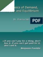 The Basics of Demand,