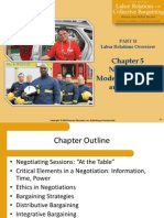 Public Sector Union Negotiation Models, Strategies, and Tactics