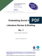 Embedding Social Value