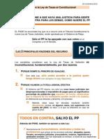PSOE Recurre Al Tribunal Constitucional la Ley de Tasas Judiciales