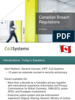 Canadian Breach Regulations