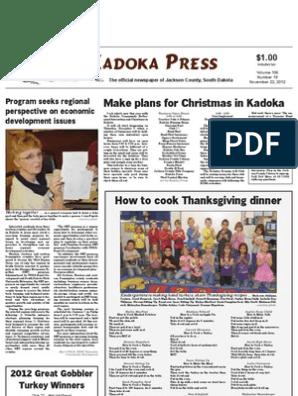 Adoka Ress: Make plans for Christmas in Kadoka