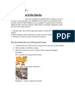Science Year 5- Unit 2 Survival of the Species ( Notes and Exercise)