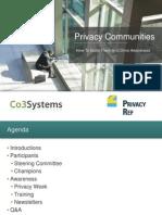Privacy Communities