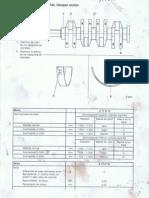 Tablas de seleccion de cojinetes de biela y cigüeñal para motores Opel Z17DTH