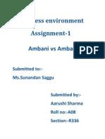Ambani vs Ambani