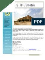 STFP Bulletin- November 2012