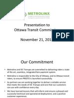 Ottawa Nov 21 Presentation - FINAL 20 Nov 3pm