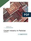 Carpet Industry in Pakistan