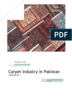 Carpet Industry in Pakistan