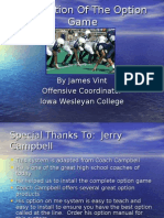 Installation of the Option Game CD