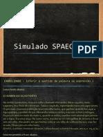 Simulado SPAECE
