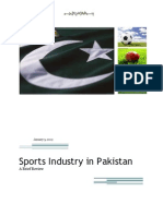 Sports Industry in Pakistan