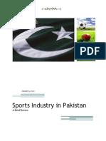 Sports Industry in Pakistan