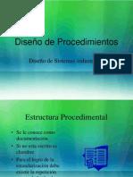 ESTRUCTURA PROCEDIMENTAL DOCUMENTACION