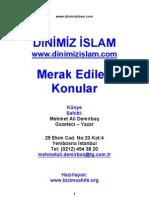 Mehmet Ali Demirbaş Merak_Edilen_Konular