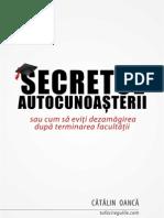 Secretul autocunoasterii