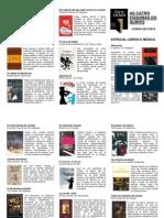 Boletín especial música e libros
